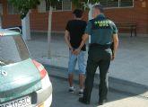 La Guardia Civil detiene al presunto autor de una grave agresión al conductor de un turismo en Alguazas