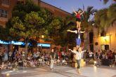 Acrobacias, música y fuego para cerrar 'Sal de Calle'