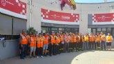 70 voluntarios de Protección Civil vigilan monte y espacios naturales para prevenir los incendios forestales en la Región de Murcia