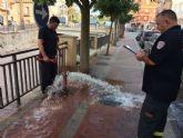 Protecci�n Civil acomete trabajos de revisi�n t�cnica en m�s de 150 hidrantes distribuidos por el casco urbano y el pol�gono industrial El Saladar