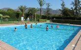 Las piscinas p�blicas del Polideportivo Municipal 6 de Diciembre y el Complejo Deportivo Valle del Guadalent�n mantienen el servicio hasta el 1 de septiembre