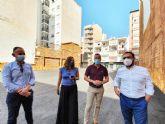 El Ayuntamiento de Lorca acondiciona un céntrico solar para la creación de 24 nuevas plazas de aparcamiento público