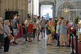 Veneración en sustitución del Besamanos a la Patrona de Sevilla y su Archidiócesis en la Seo de Sevilla