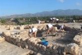 Cerca de una veintena de voluntarios participan hasta ma�ana en el VIII Campo de Trabajo Arqueol�gico en el yacimiento �Las Cabezuelas�