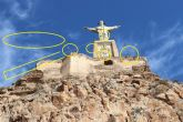 El Ministerio confirma a Huermur que la iluminación del castillo de Monteagudo está repleta de problemas
