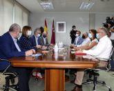 Respuesta coordinada para avanzar en el control de la quinta ola del coronavirus en las residencias de la Región