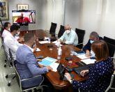 Isabel Franco se reúne con representantes de residencias de mayores y del Cermi para precisar las necesidades que tienen para hacer frente al coronavirus