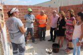 15 desempleados de San Pedro del Pinatar se forman en albañilería con un programa de la Comunidad