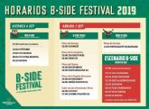 Mañana arranca el B.SIDE FESTIVAL con su primer día gratuito