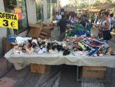 El mercadillo semanal se adelanta a la jornada del martes 11 de octubre por la festividad del Pilar, Día de la Fiesta Nacional