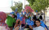 Gran jornada de convivencia para dar la bienvenida de nuevo a las actividades de 'Columbares' en el barrio del Carmen