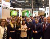 Presencia destacada de las empresas hortofrutícolas de Mazarrón en el stand regional de