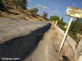Comienza el plan de choque para parchear los caminos rurales con m�s necesidades del municipio
