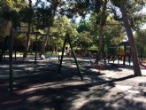 Los juegos infantiles del parque municipal se cerrarán al público a partir del 9 de octubre por el desmontaje de infraestructuras y comienzo de las obras de mejora del recinto