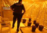 La Guardia Civil esclarece un robo con intimidación en una vivienda donde se ha desmantelado un punto de venta de droga