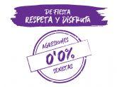 'De fiesta respeta y disfruta 0,0% agresiones'