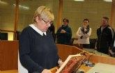 El Ayuntamiento transmite su p�same y condolencias por el fallecimiento de la ex concejal y alcaldesa ped�nea de La Costera-Ñorica, Esperanza Mart�nez