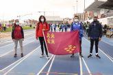 Notable actuaci�n de los atletas del Club Atletismo Alhama en Pamplona