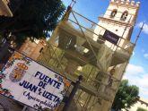 En un mes aproximadamente estar�n finalizadas las obras de restauraci�n de la emblem�tica Fuente Juan de Uzeta
