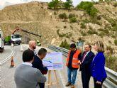 Fomento mejora la principal vía de acceso a Blanca, que alcanza los 1,3 millones de desplazamientos al año