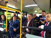 La Comunidad pone en marcha un autobús directo entre Los Alcázares y el hospital de  Los Arcos