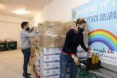 La Despensa Solidaria de Archena se recarga con 10.000 kilos más de alimentos