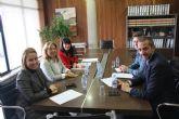 Reunión del director general de Participación Ciudadana, Unión Europea y Acción Exterior con la alcaldesa de San Pedro del Pinatar