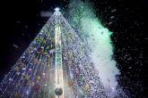El árbol de la Plaza Circular, lugar de encuentro para vivir una Navidad llena de actividades y sorpresas para toda la familia