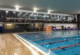 MOVE acogió una competición de natación enmarcada en las fiestas de Santa Eulalia