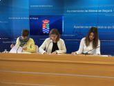El Ayuntamiento de Molina de Segura y la Protectora de Animales de la localidad firman un convenio para la protección de animales y el fomento de su adopción