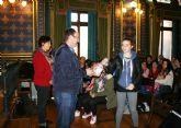 Alumnos de intercambio franceses visitan Casas Consistoriales