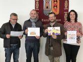 Álvaro Sánchez del colegio Ntra. Sra. del Rosario ganador del primer premio del Concurso de Dibujo Infantil 'Media Maratón de Torre-Pacheco'