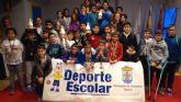 La Fase Local de Ajedrez de Deporte Escolar congregó a 57 escolares de los diferentes centros de enseñanza