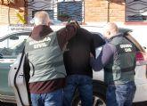 La Guardia Civil detiene a dos presuntos atracadores en Mazarrón