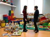 El Centro de Atención Temprana de Lorca adquiere nuevo material para el tratamiento de niños con necesidades especiales