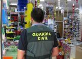 La Guardia Civil detiene a un escurridizo delincuente por el atraco a un comercio de alimentaci�n en Totana