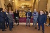 López Miras inaugura en la iglesia de San Esteban un belén tradicional realizado por la Asociación de Belenistas de Fuente Álamo