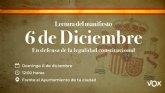 VOX leer� un manifiesto en defensa de la legalidad constitucional en toda España