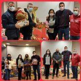 El PSOE de Totana agradece a los totaneros y totaneras su generosidad y solidaridad en la campaña de recogida de juguetes