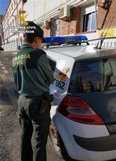 La Guardia Civil detiene a una mujer que sustrajo 5.000 euros a una octogenaria