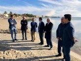 San Javier contará con un punto de acceso para embarcaciones en la playa de El Atalayón para eliminar los fondeos ilegales en el Mar Menor