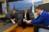 Ayuntamiento y la consejería de Hacienda y Administraciones Públicas mantienen una reunión de trabajo