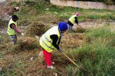 Un total de 58 desempleados agrarios contratados han iniciado esta semana sus labores en diferentes espacios del municipio