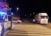 La Guardia Civil investiga al conductor de un veh�culo articulado de 40 toneladas que quintuplicaba la tasa de alcoholemia