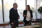 El Ayuntamiento de San Pedro del Pinatar recupera el bastón de mando del alcalde Antonio Tárraga Escribano