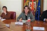 Ribera mantiene un encuentro con representantes de CCOO y UGT para conocer la iniciativa sobre la Mesa para el futuro de León