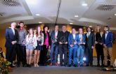 Fabián Molina y Mabel Gallardo galardonados como mejores deportistas en la I edición de los Premios del Deporte de Puerto Lumbreras