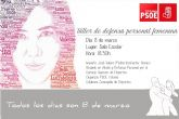 El PSOE de Totana se organiza un taller de defensa personal femenina con motivo del Día Internacional de la Mujer
