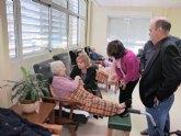 La Comunidad financia con más de 1,5 millones de euros la atención de personas mayores en el municipio de Cieza
