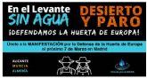 El Ayuntamiento de Fuente Álamo se suma a la manifestación de los agricultores el 7 de marzo en Madrid